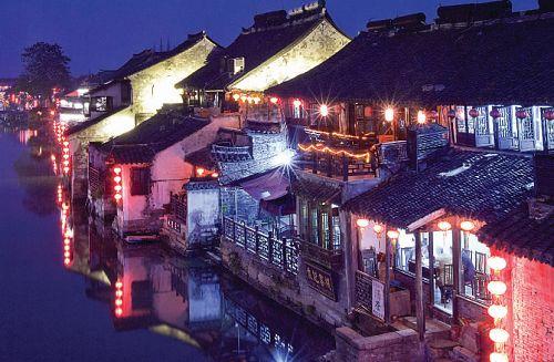 彩色西塘:不同于水墨画的混搭古镇(图)