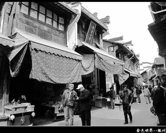 水墨徽州:屯溪老街的古老传说(组图)