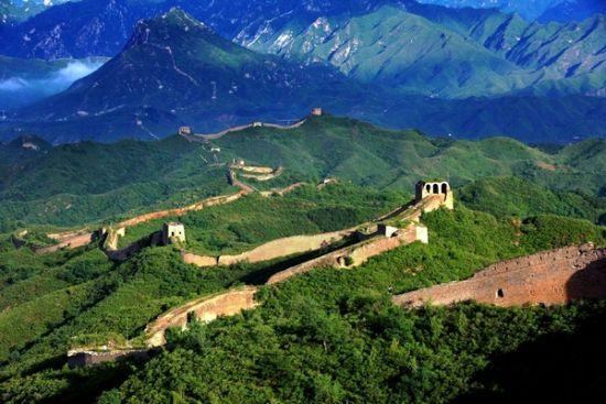 长城的风景图片