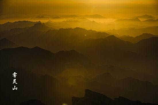 梦幻雾灵山 北京周边避暑行摄圣地