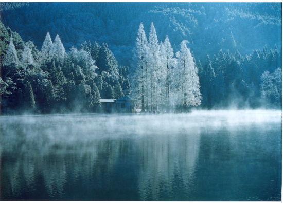 冬季游江西庐山 恍如仙境