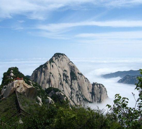 金庸著作中的十大旅游胜地之华山