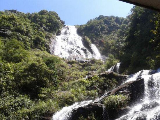 玉林大容山与自然亲密接触的旅途