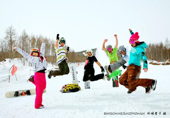 黑龙江——冰天雪地里 玩的就这么任性