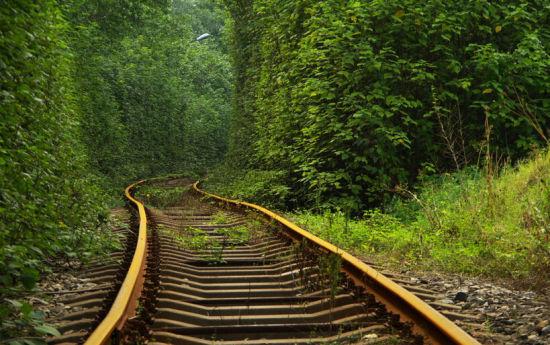 西安最上镜的旅游胜地西安小清新铁路