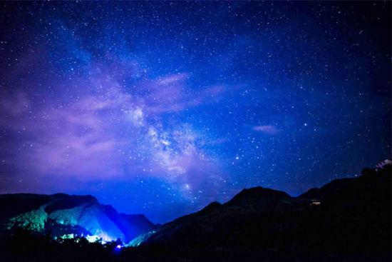 陕西旅行 带你去看秦岭星空