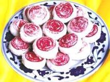 鲜花玫瑰饼