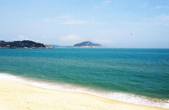 东山岛生态海岸线 尽显南国风光