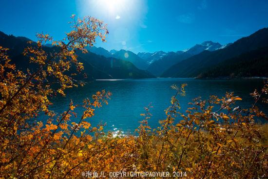 印象新疆 飞越天山一览天池美景