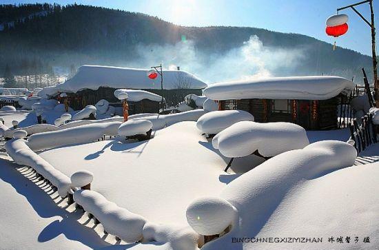 黑龙江醉美之冬 梦幻雪乡茫茫雪原