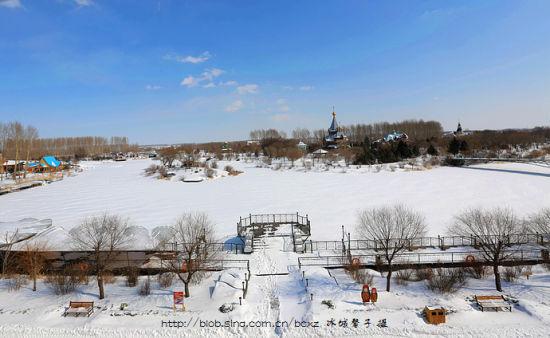 哈尔滨醉美之冬 异国风情伏尔加