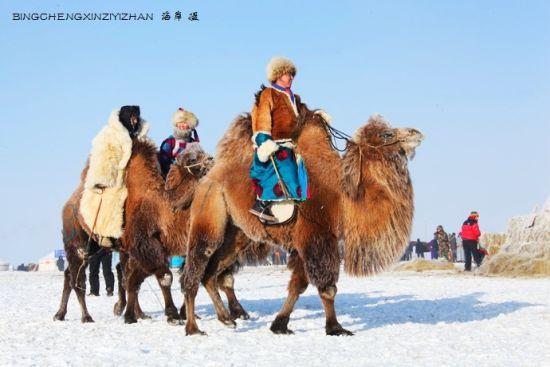 呼伦贝尔大雪原 民族风浪漫情怀