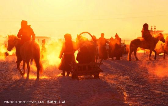 火红的大草原 冰雪激情那达慕