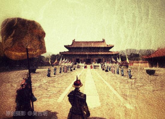 清东陵穿越之旅 盗墓笔记的感怀