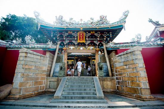 东山关帝庙 台湾关帝信仰的发祥地