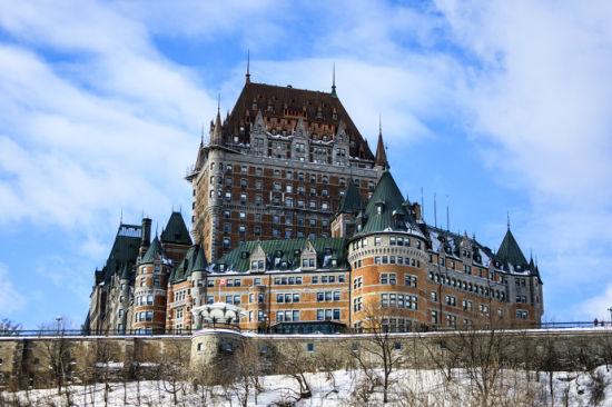 加拿大 魁北克梦幻般的冰雪世界