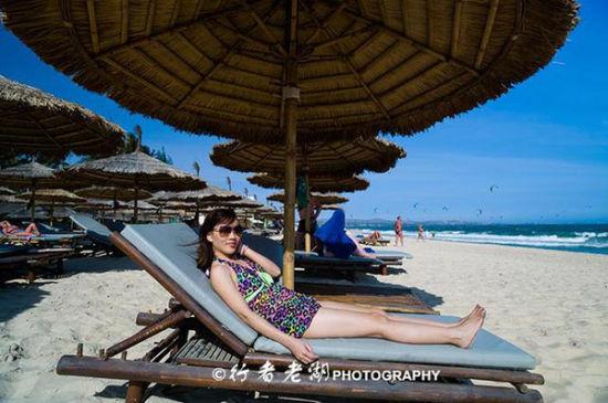去美奈慵懒度假天堂玩风筝冲浪