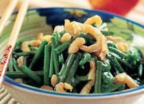 中国黑龙江大庆餐饮特色菜:龙江海米蕨菜