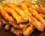 中国宁夏银川特色菜:香酥鸡