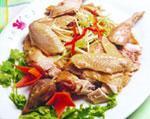 中国宁夏吴忠特色菜:白水鸡