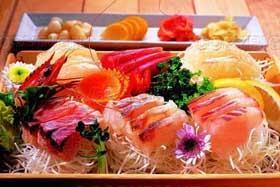 中国黑龙江佳木斯餐饮特色菜:同江赫哲族生鱼片