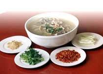 中国山西长治特色菜:羊汤