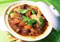 中国山西吕梁特色菜:中阳柏子山羊肉