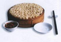 中国山西太原小吃:莜面窝窝