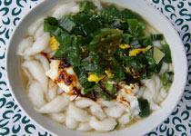 中国山西五台山小吃:高梁面鱼鱼