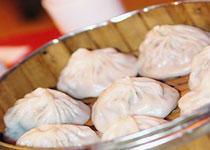 中国辽宁沈阳餐饮小吃:灌汤包