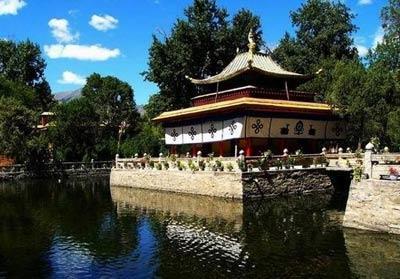中国西藏拉萨4A级景区罗布林卡