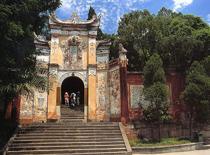 中国重庆4A级景区白帝城