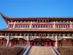 中国辽宁4A级景区丹东五龙山风景区