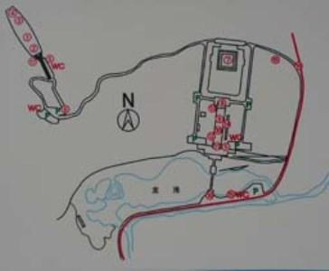 最详细的黄帝陵景点地图
