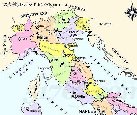 意大利  米兰地图…[查看全文]