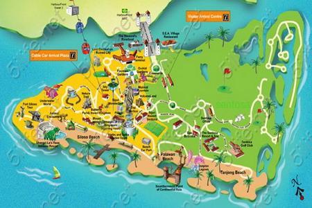 新加坡圣淘沙旅游