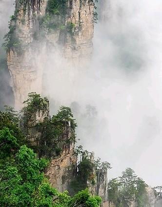 张家界森林公园旅游博客_张家界森林公园自由