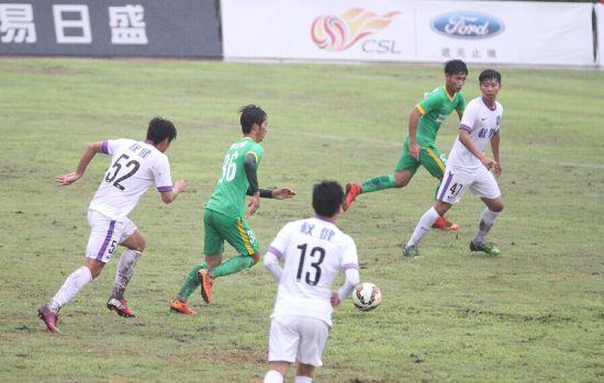 预备队联赛 杭州绿城VS天津泰达