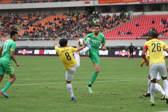 杭州绿城VS上海申鑫(2)