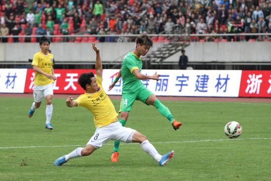 杭州绿城VS上海申鑫(4)