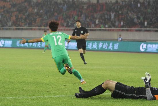 杭州绿城VS山东鲁能(1)