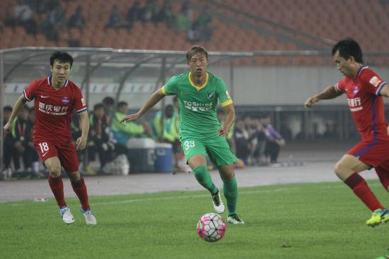 杭州绿城VS重庆力帆(1)