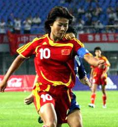 奥运测试赛-韩端独中两元中国女足4-0狂胜弱旅泰国