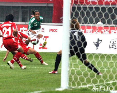 测试赛-墨西哥发威连灌对手六球6-0狂扫泰国女足