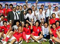 亚洲杯-韩教练集体被罚点球战韩国6-5日本获季军