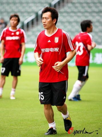 图文-[回归杯]中国明星队VS香港明星队黄健翔