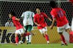 图文-[亚洲杯]韩国VS沙特崔成国狂奔庆祝进球