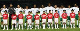 图文-[亚洲杯]韩国1-1沙特沙特队员严阵以待