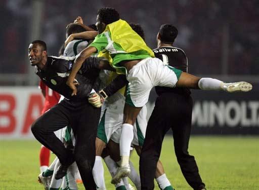 图文-[亚洲杯]沙特队2-1印尼胜利已经成定局