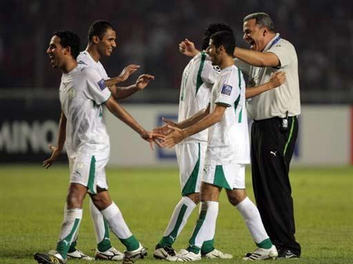 图文-[亚洲杯]沙特队2-1印尼队这样完美的结局